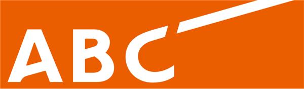 △岛田保为朝日电视广播公司设计的商标,和新一届世博会的 logo 形成反差。图片来源 | 朝日放送